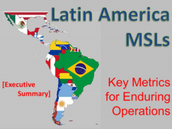 Latam medical science liaisons